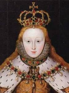 Elisabeth I at her coronation
