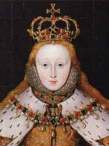 Elisabeth I at her coronation